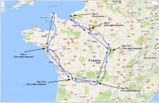 France Loop Shorter Longer