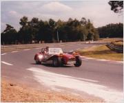 Friend driving Le Mans 1988