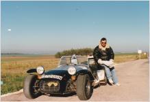 Mike Ebery Beaujolais Run 1989